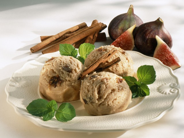 gelato fichi e cannella