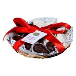 Cesto di Bocconcini di fichi al cioccolato misti